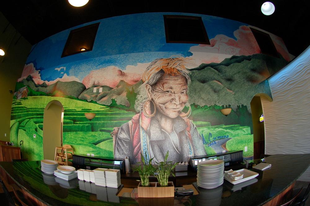 Pho Doy Mural