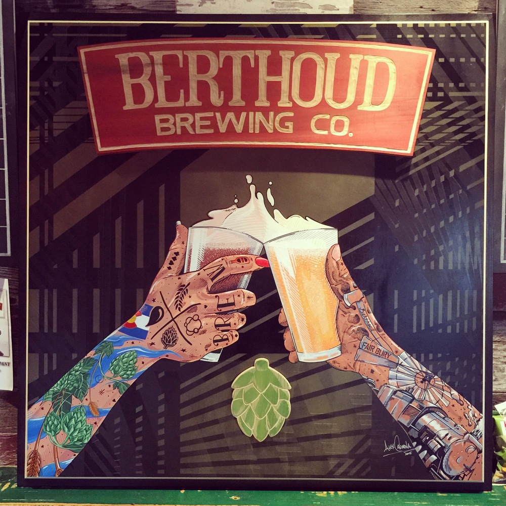 Berthoud Brewing Painting