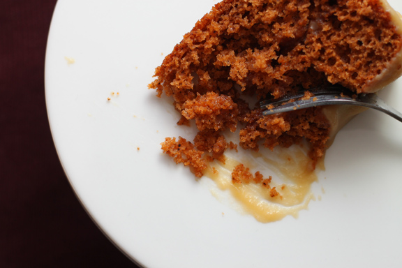 Cake: Tomato Soup-based spice cake popular in the 1940s.