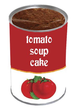 Invite: Tomato Soup Cake