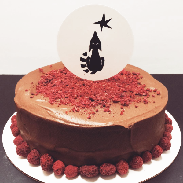 Cake for Coralie Bickford-Smith celebrating  The Fox and The Star .
