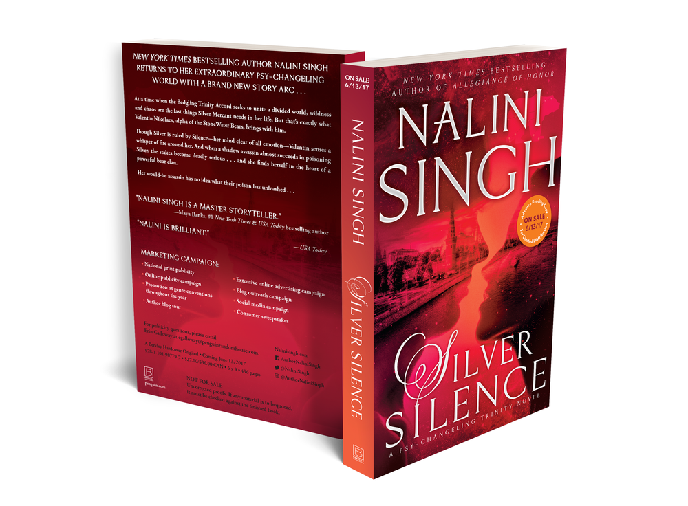 Advance Reader's Copy for  Silver Silence  by Nailing Singh.