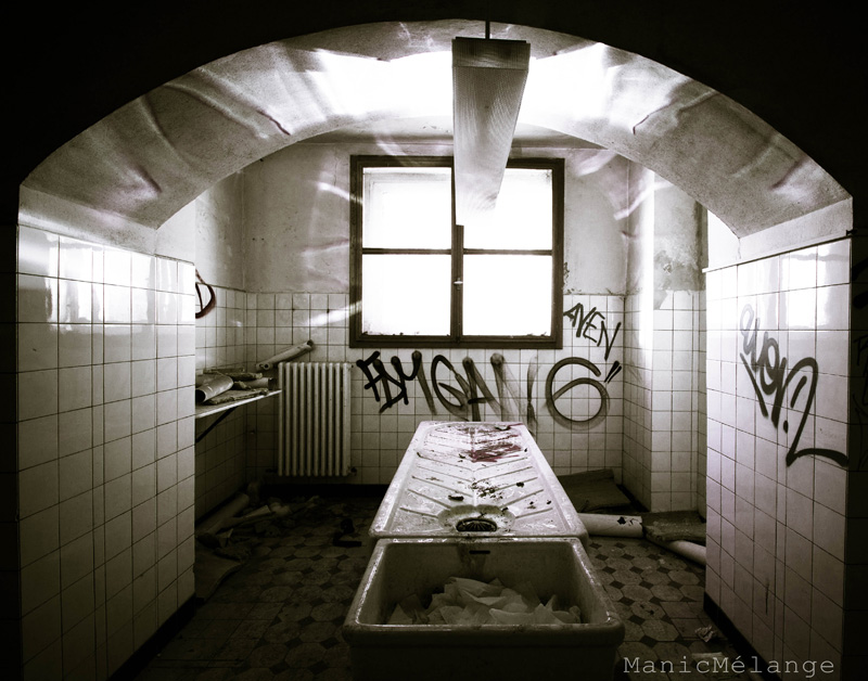 See the Light // Abandoned Morgue: Germany
