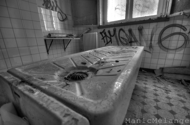 Love and Death // Abandoned Morgue: Germany