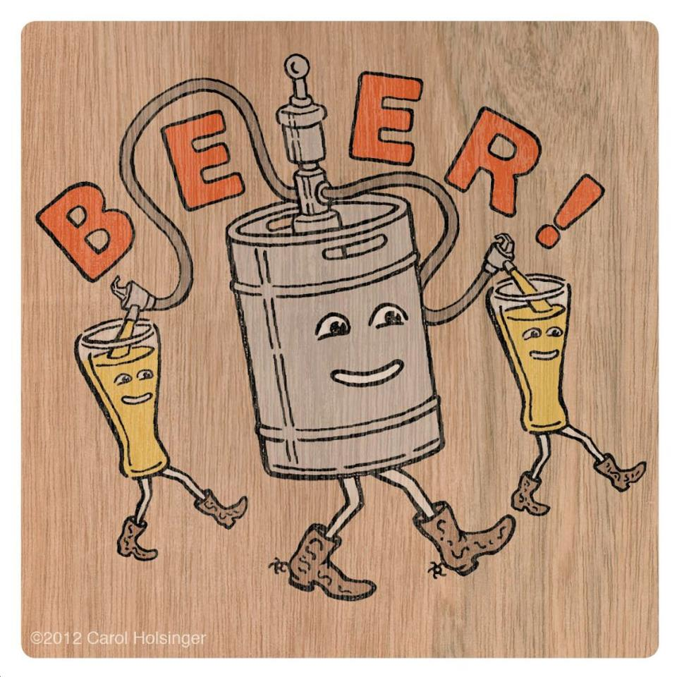 Beer! T-shirts coming soon!