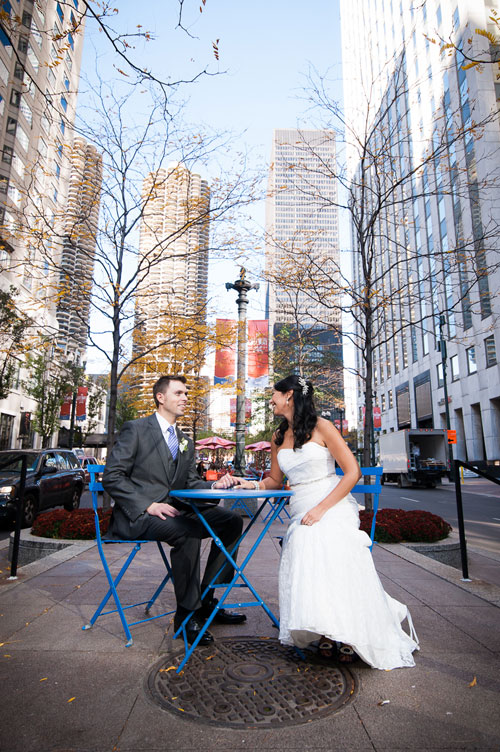 Chicago wedding at The Wit Hotel.