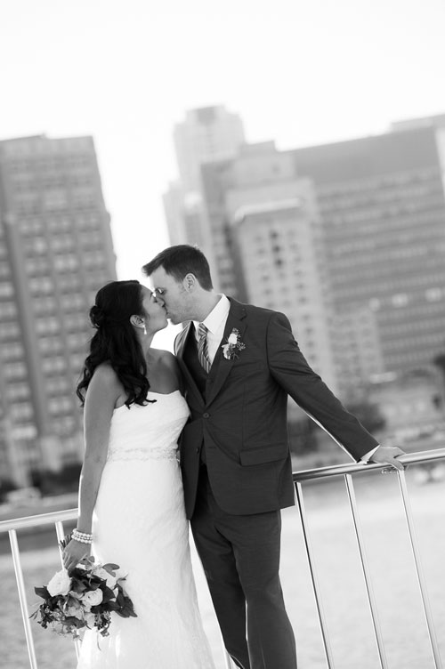 Chicago wedding photo at Milton Olive Park.