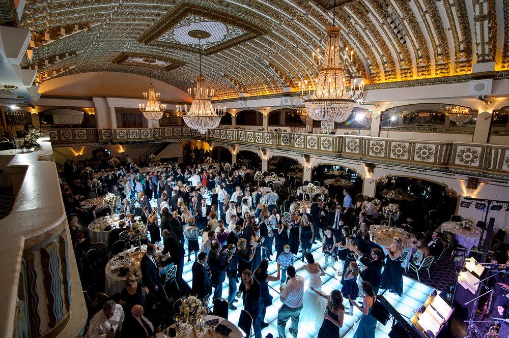Kathleen & Teddy's wedding reception at the Knickerbocker Hotel Chicago.