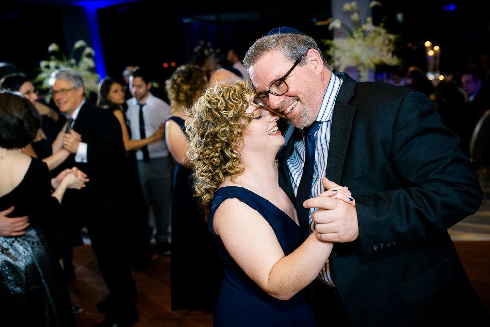Wedding dancing at the DoubleTree Skokie.