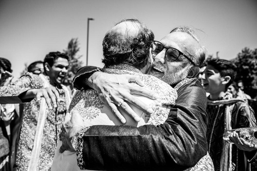 Baraat ceremony during a Renaissance Schaumburg Convention Center Indian wedding.