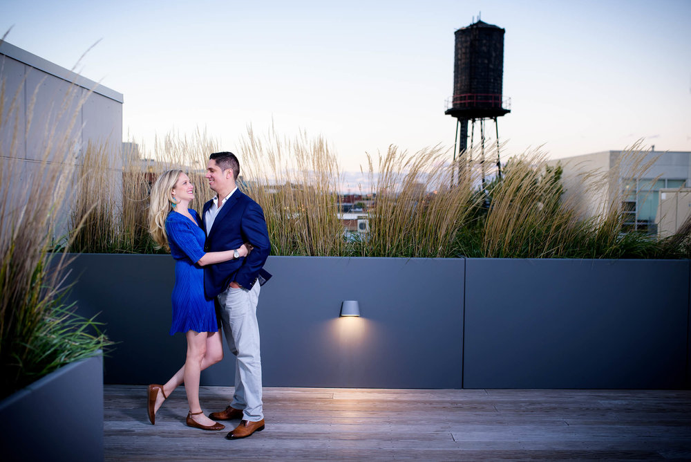 West loop engagement session Chicago.