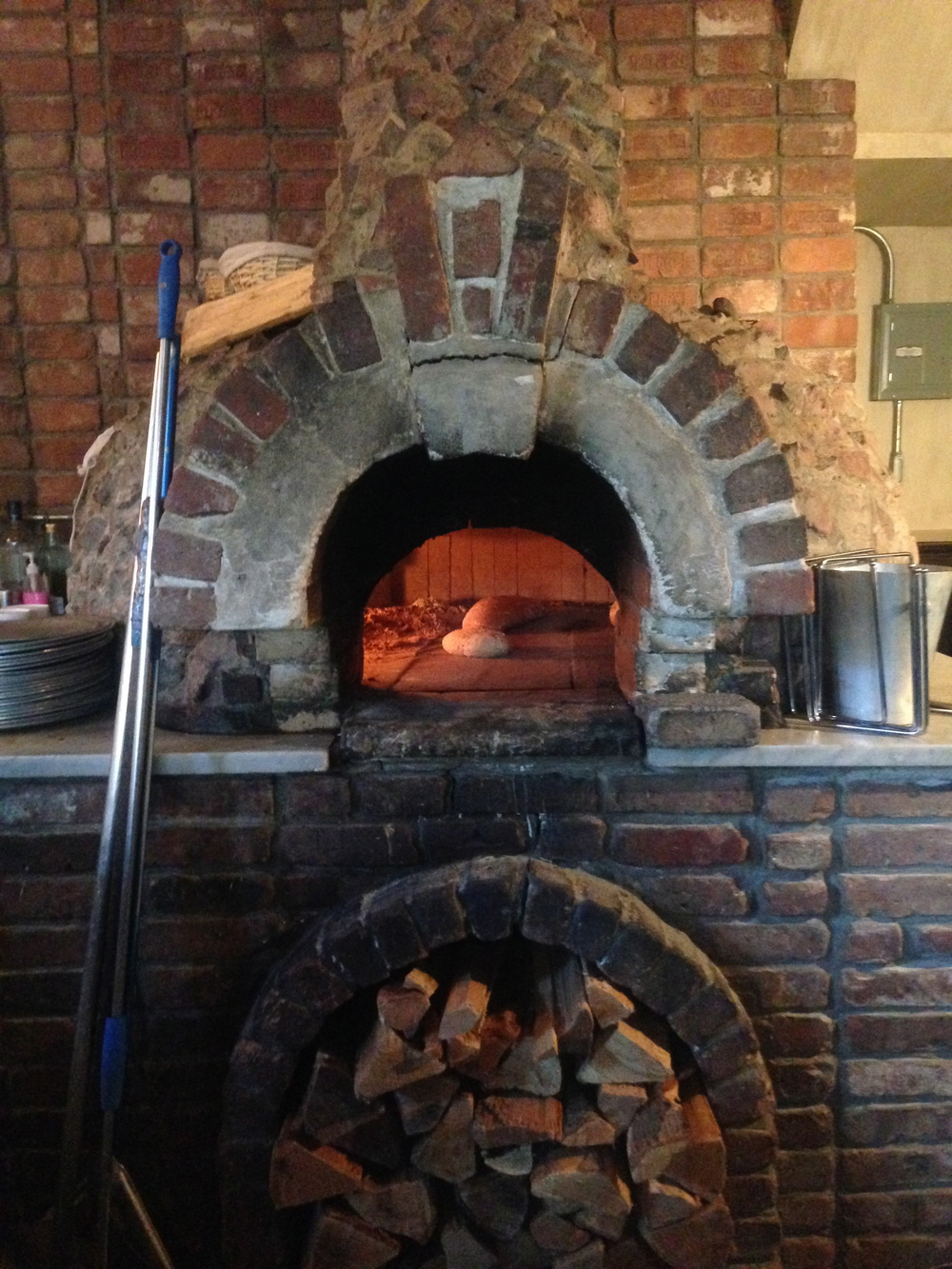 BK17 is now using the wood oven of Toby's Public House!