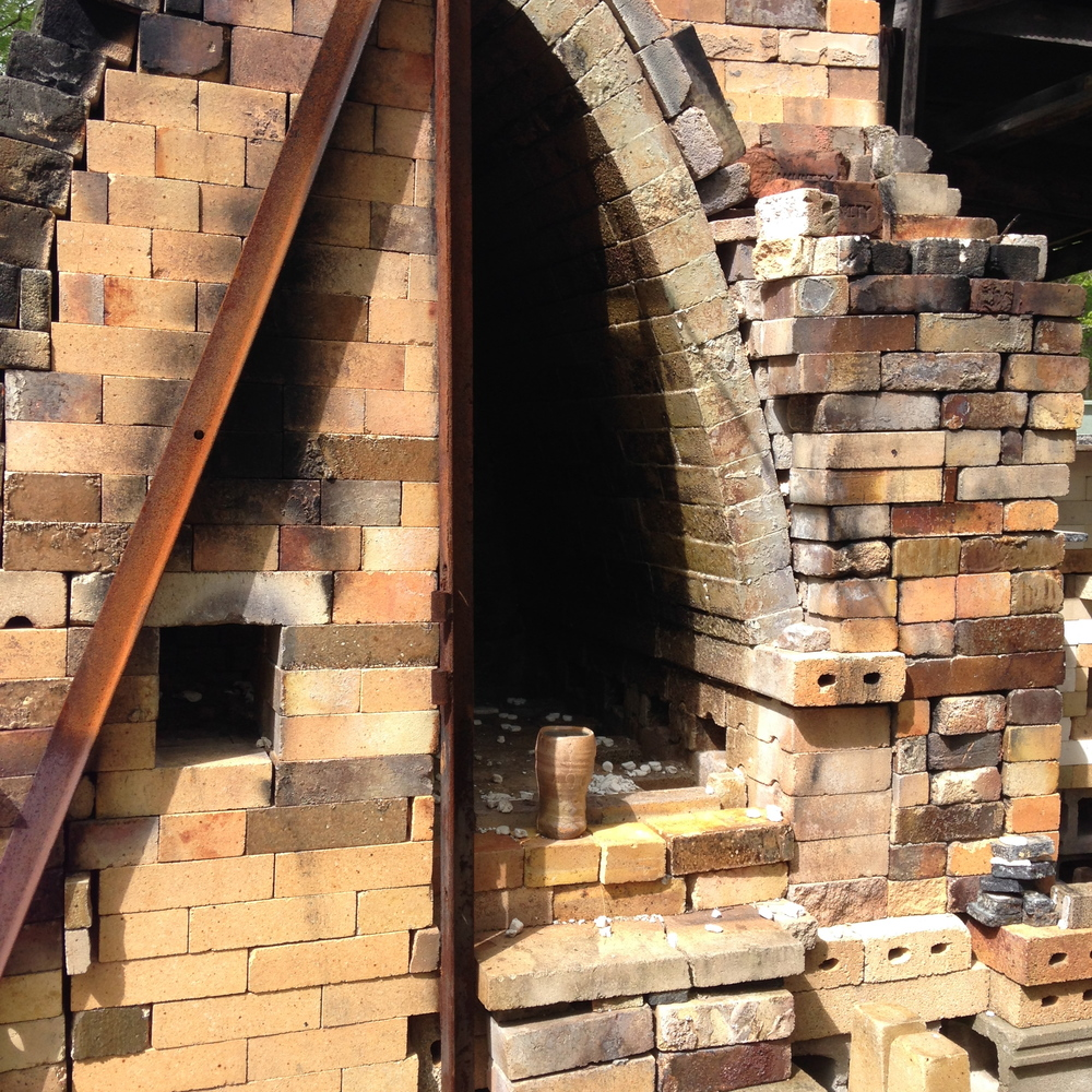 Wood-fired Salt Kiln