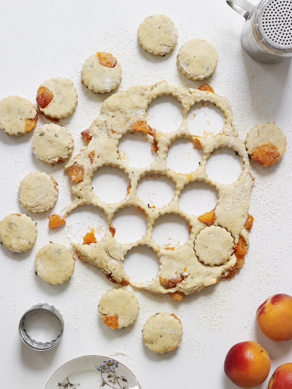Apricot and Tarragon Scones