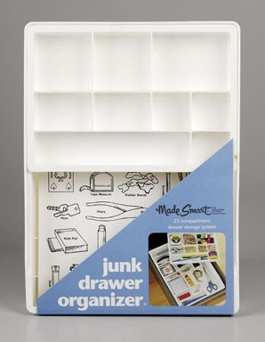Junk drawer organizer by Made Smart.