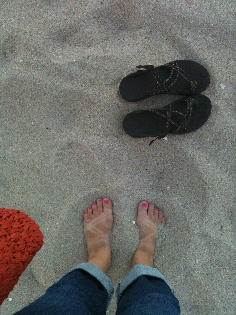 My Chacos in Ft. Lauderdale, 2011.
