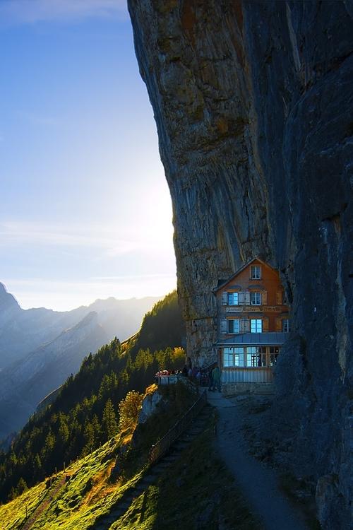 0rient-express :      Swiss alpes inn | by Christoph Steinlein .