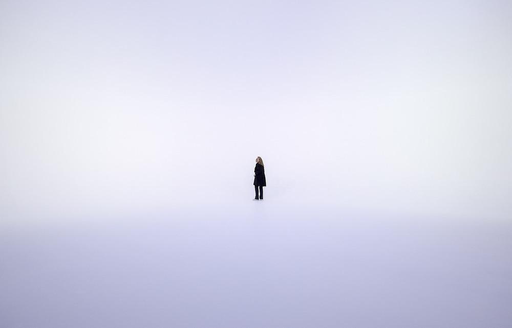 contemporary-art-blog :     Doug Wheeler, The Illusion of Light, Palazzo Grassi, Venice, 2014 (Getty Images)