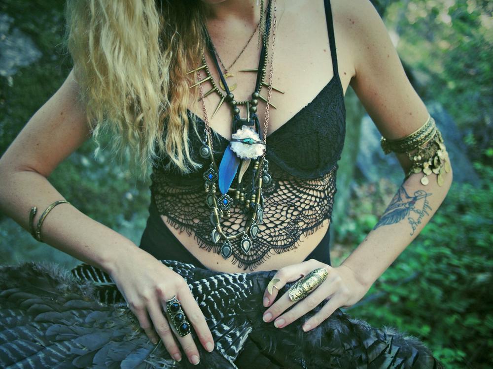 spirit-vibes :      somerollingstone :     Corina Brown of  Wild & Free Jewelry       ॐ
