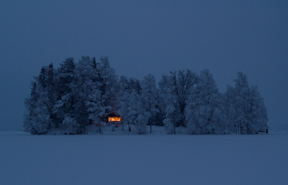 skycream :     Cottage on an island near  Nora, Sweden . Submitted byJonas Loiske.   I would honestly love to be there right now.
