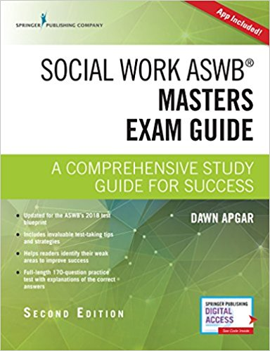 Download social work aswb masters exam guide: a comprehensive study g….