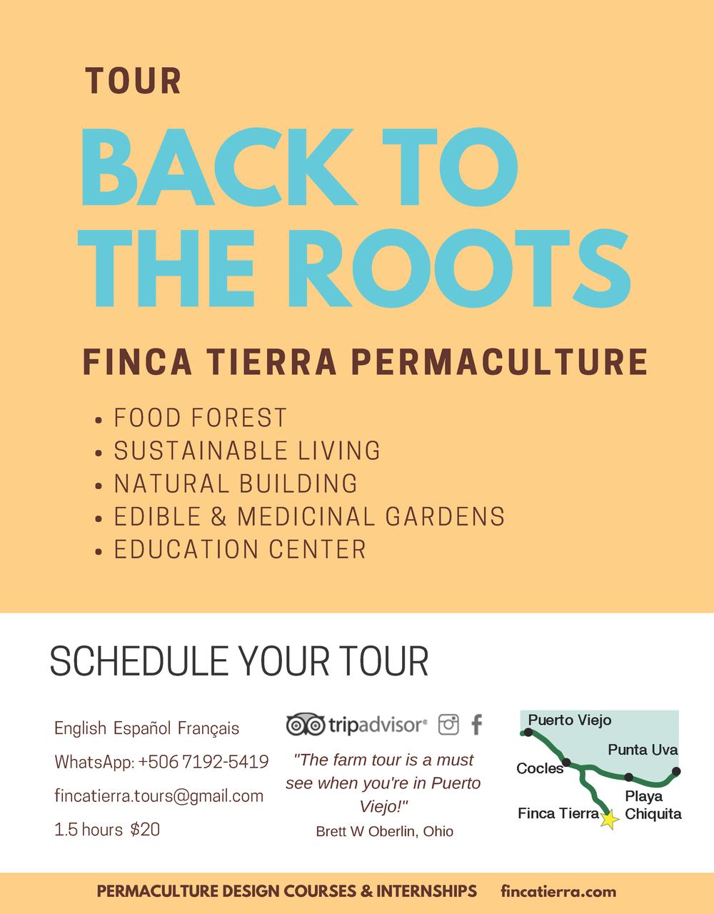 Permaculture farm tour in Puerto Viejo, Costa rica