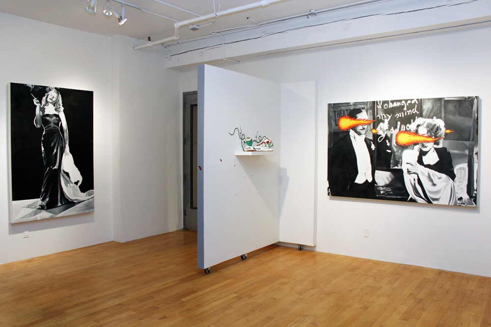 Installation View, Smoke & Mirrors, Porter Contemporary