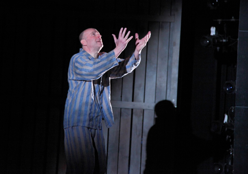 as Otto Frank in ANNE & EMMETT