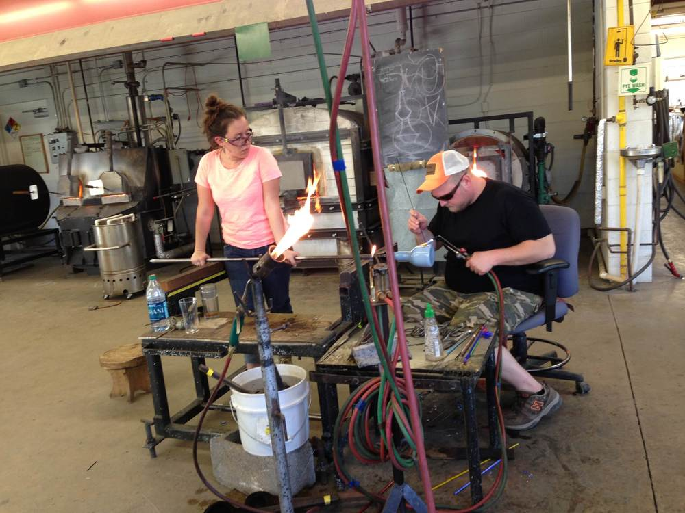 Amazing glass blowing