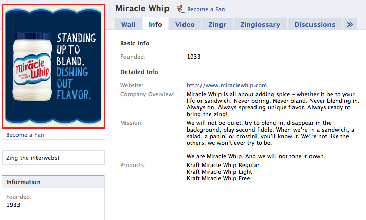 the first rule of miracle whip club is make a big facebook thing out