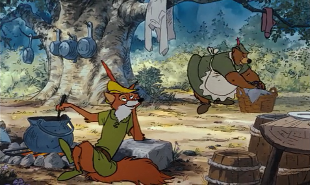 Robin Hood doesn't even know how amazing his life is about to get!