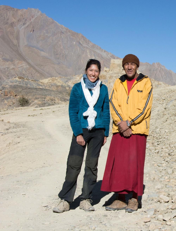 Lama Wangchuk et moi à Zangla