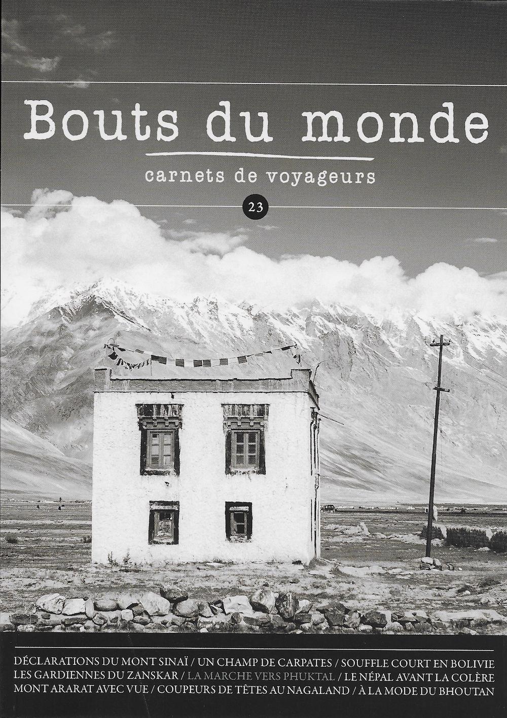 Bouts du Monde n°23 - Été 2015 (Lien)
