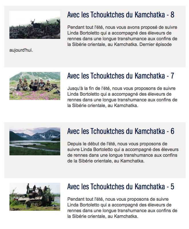 France Info - Eté 2012 (Lien)