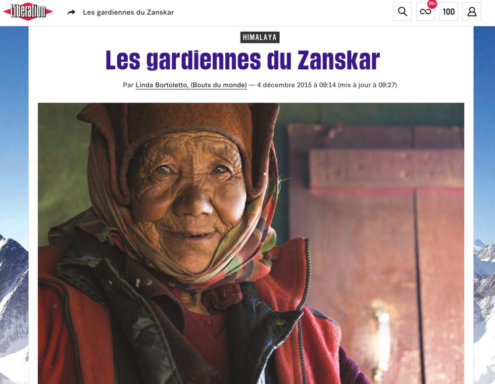 Libération - Décembre 2015 (Lien)