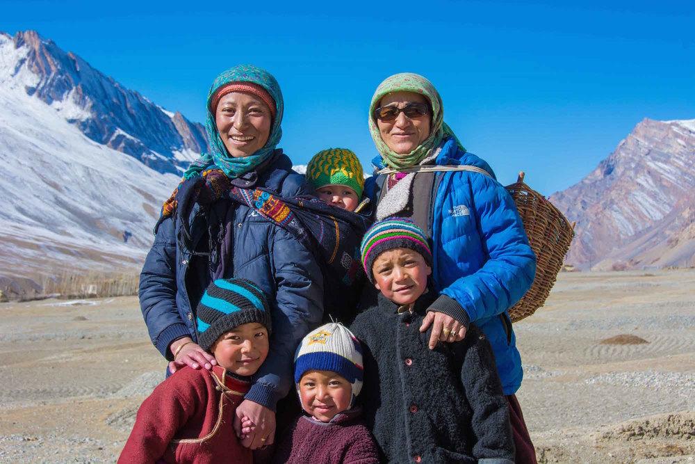 Malgré les conditions de vie extrêmes au Zanskar (Himalaya), les habitants font preuve d'une patience et d'une acceptation face aux éléments sans faille. La mindfulness est une disposition naturelle chez eux.