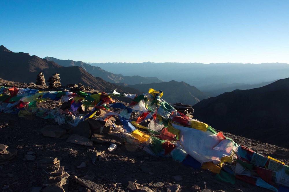 Après plus de 10 jours de marche en solitaire à travers l'Himalaya, perchée à plus de 5500 mètres, j'accède à ce paysage fabuleux tout en me trouvant dans un état de mindfulness.