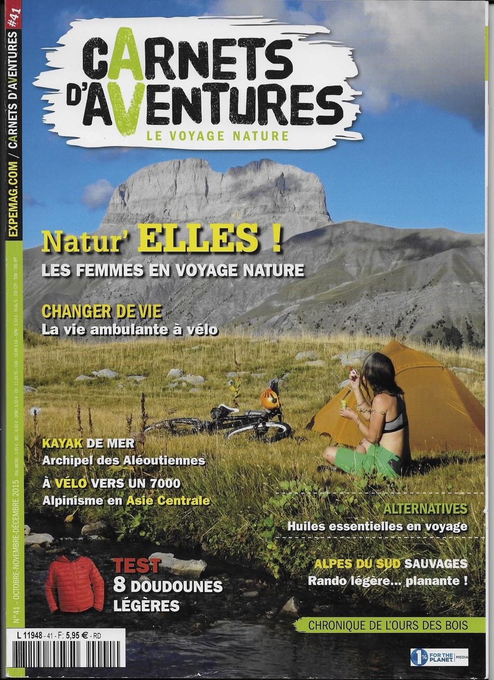 Carnets d'aventure - Octobre 2015 (Lien)
