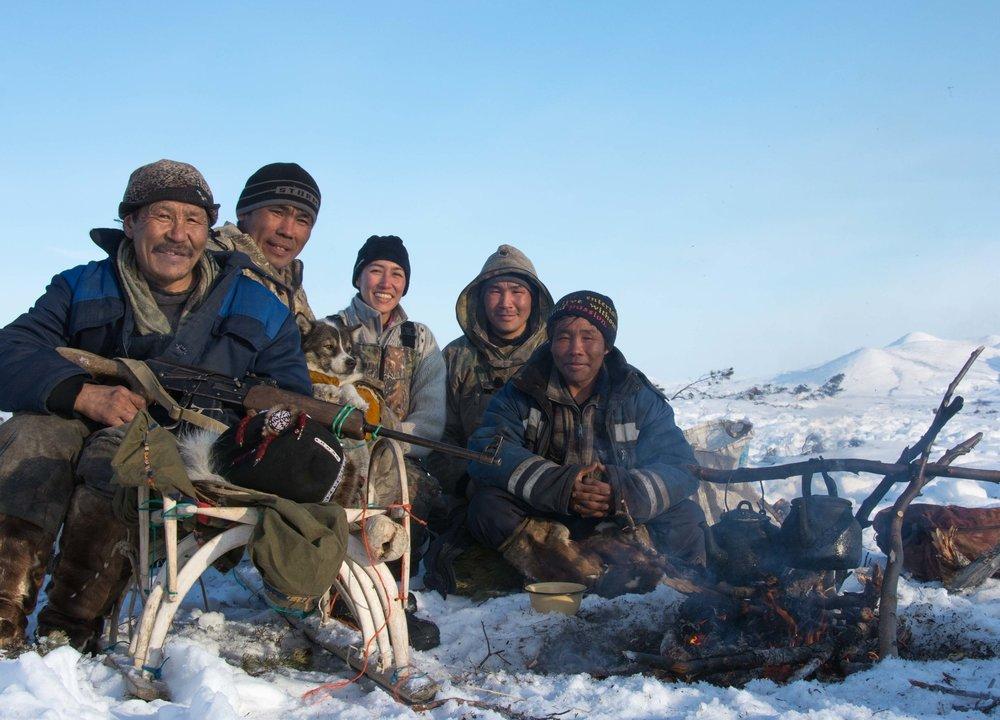 Avec les Tchouktches du Kamchatka - Avril 2014