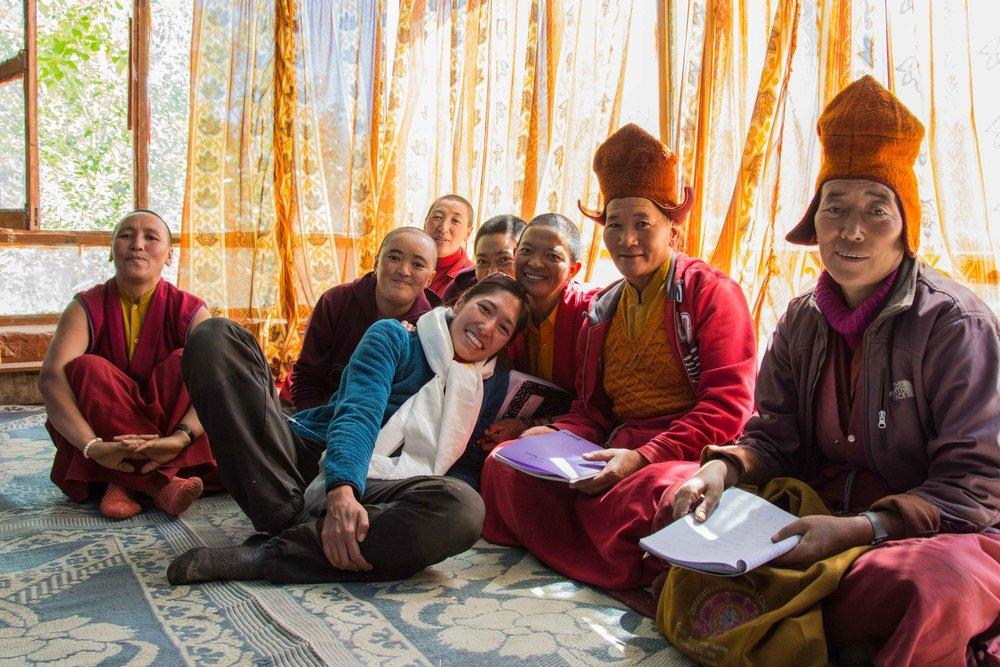 ZANSKAR - Je vis avec des nonnes bouddhistes à 4500 mètres d'altitude
