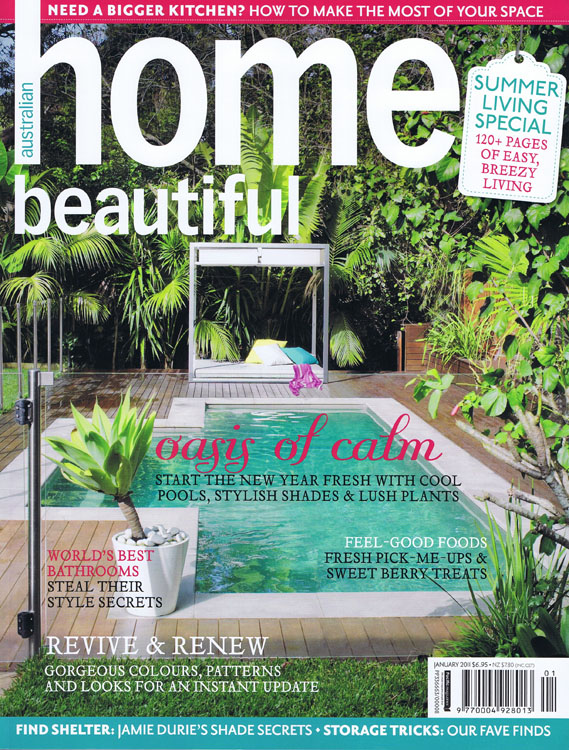 Home Beautiful January 2011