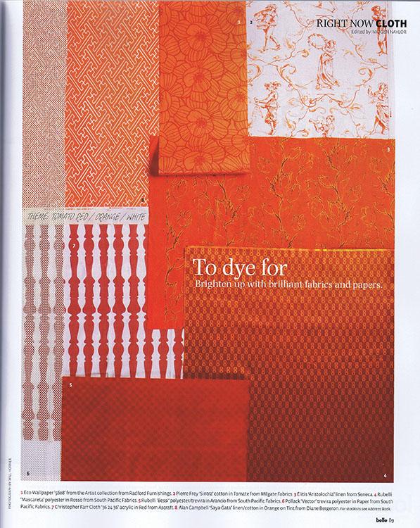 Alan Campbell's Saya Gata Orange