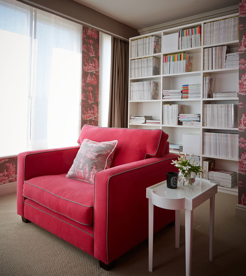 manuel-canovas-raspberry-armchair-custom-joinery-toile-wallpaper-pink-room-diane-bergeron.jpg