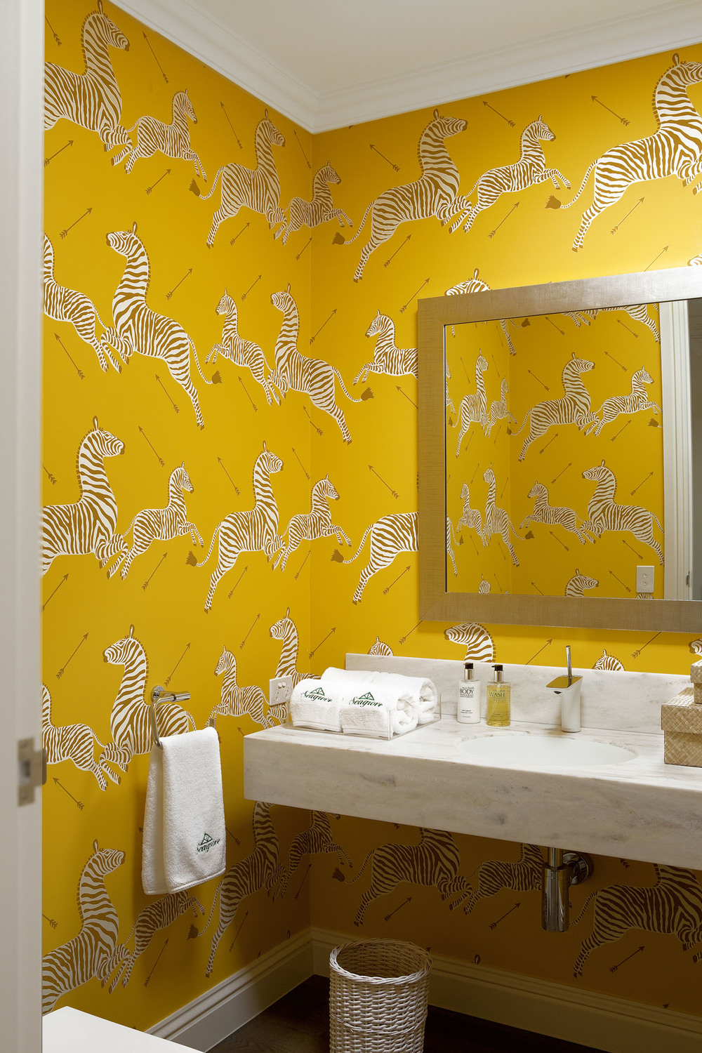 american-style-bathroom-scalamandre-zebra-wallpaper-yellow-diane-bergeron.jpg