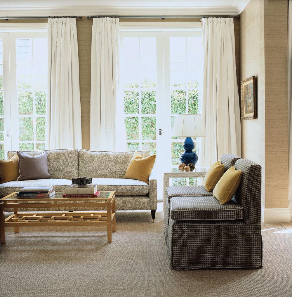 Living Room Royal Blue Ceramic Lamps Collette Sofa  Part 93