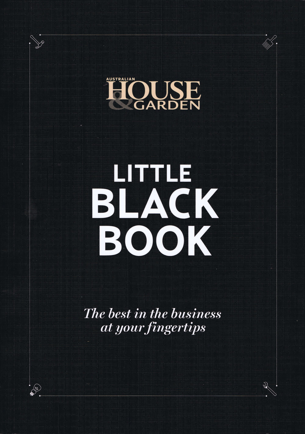 Black Book Cover Design ~ House and garden october interior design diane