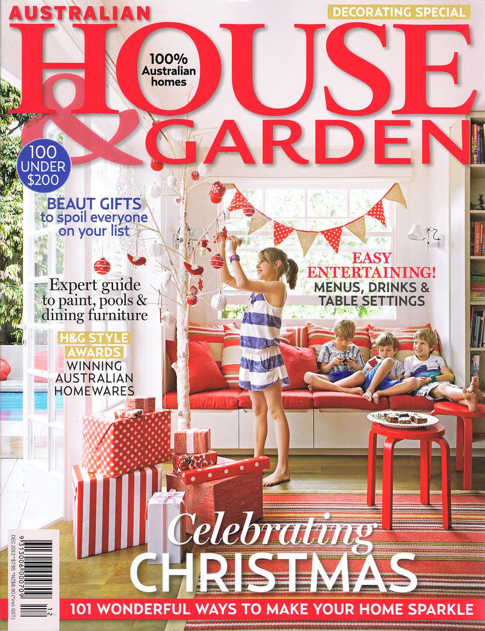House & Garden December 2013