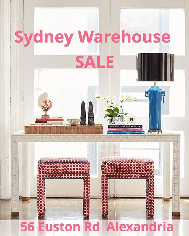Beautiful furniture pieces seeking their forever home! Pop into @arthurgfurniture warehouse at 56 Euston Rd, Alexandria (9am – 5pm March 30th + 31st) for the chance to pick up a #DBxAG bargain. Up to 60% Off new and ex-floorstock pieces can be found, including a gorgeous Lexi ottoman amongst other things. Looking forward to making room on the floor for fresh new pieces.