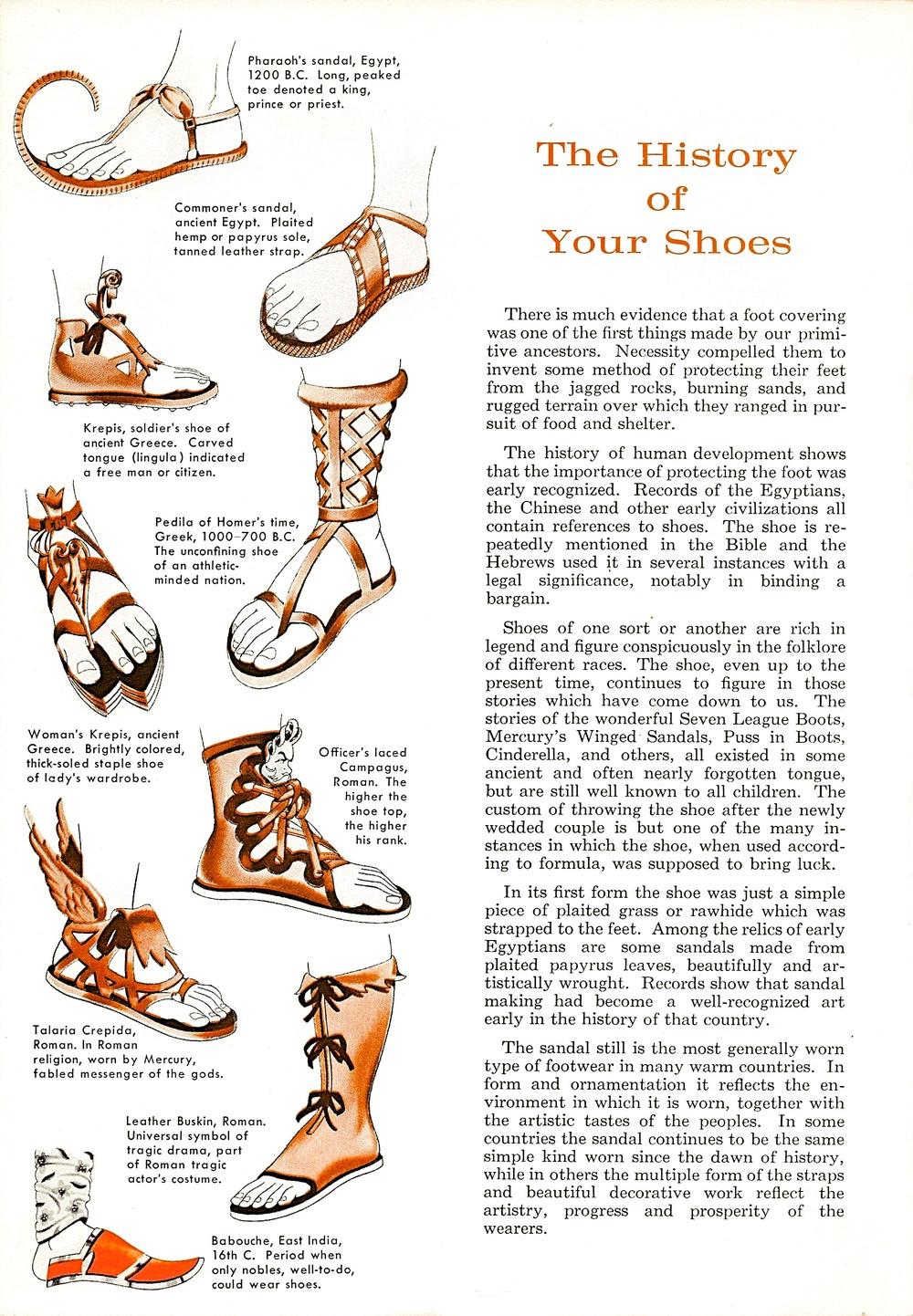 1b5c2b601 History of Shoes — C T W