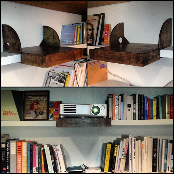 PROJECTOR SHELF